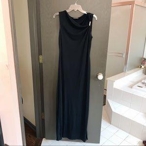 TAHARI Black Long Evening Gown